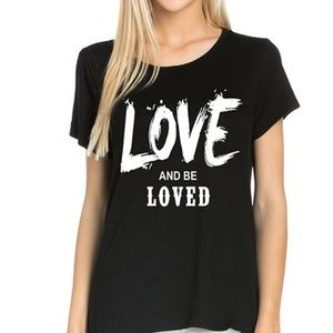 Tops - Love and be Loved Graphic Tee